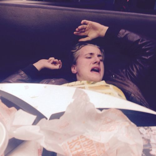 Detta är vad som händer när du äter för mycket plast på donken! Aktar er för denne man barn! Han ör extremt farlig och läskig(mest läskig) Fet Knölfet Tjockekjell Jävla Sås