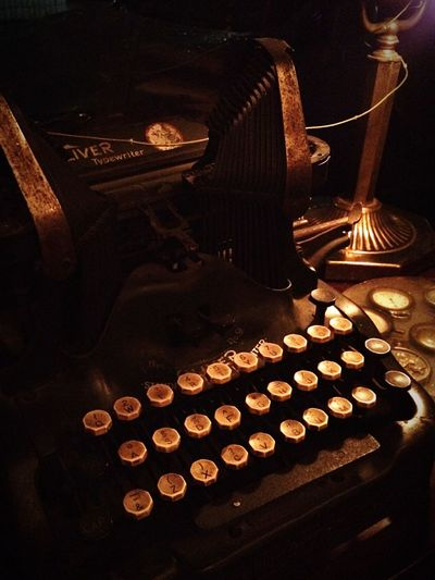 Writing is creating. IPhoneography Taking Photos Old Is New Typewriter Interior Design Getting Inspired Time For Relax