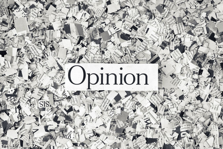 Opinion ? Opinion Opinions?  The Media Close-up Communication Conceptual Cuttings Fake News Global Communications Information Information Medium Large Group Of Objects Message News Newspaper No People Paper Printed Media Sign Single Word Studio Shot Text Un Informed Western Script