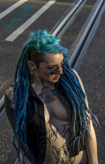 Blue Hair City
