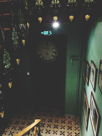 Exit Green Darkness And Light Dark