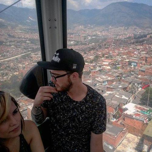 Metro cable Medellín Colombia