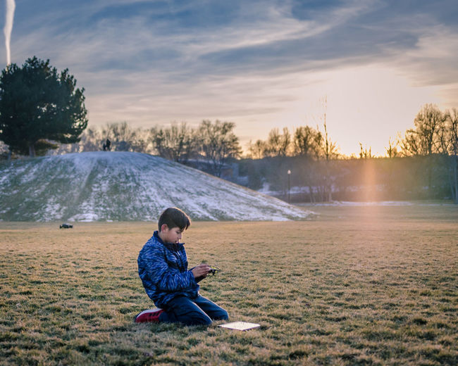 Playing outside with new Drone . Boys Child Childhood Evening Sky Golden Hour Outdoors Playing Real People Sky Sunset Technology Utah EyeEmReady EyeEmNewHere EyeEm Gallery EyeEm Selects Technology Everywhere Visual Creativity Focus On The Story #FREIHEITBERLIN The Portraitist - 2018 EyeEm Awards The Great Outdoors - 2018 EyeEm Awards Creative Space #urbanana: The Urban Playground Be Brave HUAWEI Photo Award: After Dark A New Beginning This Is Natural Beauty 50 Ways Of Seeing: Gratitude A New Perspective On Life Human Connection Capture Tomorrow Moments Of Happiness 2018 In One Photograph Redefining Menswear Humanity Meets Technology Analogue Sound