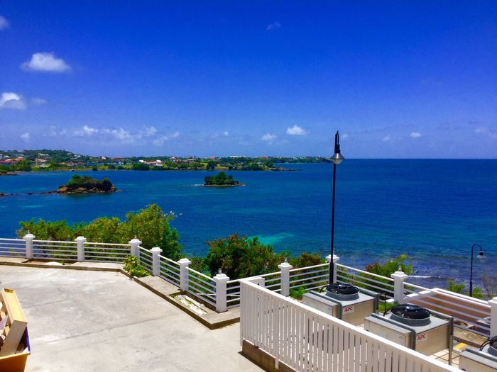 How could you not resist taking a picture of such an amazing view! Grenada Tranquility Beauty In Nature Paradise