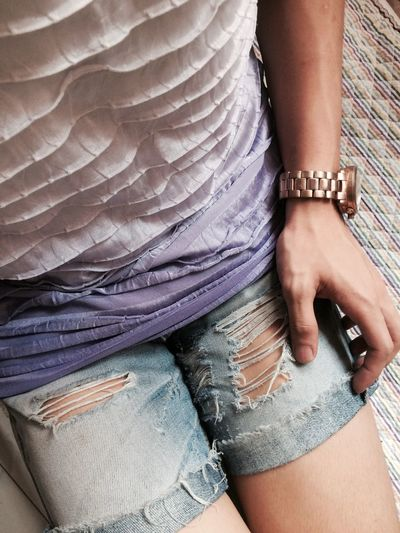 Back to work or the coffee shop Human Body Part One Person Purple Fashion Fasionstyle Fashion&love&beauty Fashion Photography Fashion Human Leg Low Section Human Hand Women One Woman Only Adult Only Women Close-up People Adults Only Young Adult Outdoors Day