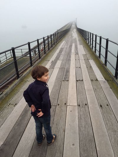 IPS2016People Southend Pier Northsea Southend On Sea My Son First Eyeem Photo Showcase March