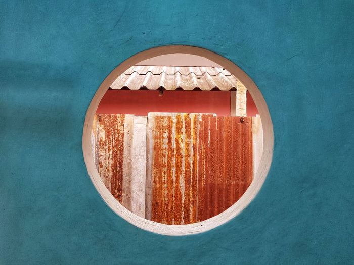 Circle Backgrounds Abstract Wall Wall - Building Feature Window Rusty Grunge Old Vintage Retro Close-up Textured  Full Frame Detail Peeled Rough Deterioration Stone Wall Weathered Peeling Off Mounted Entryway Arched Discarded Closed Door Abstract Backgrounds