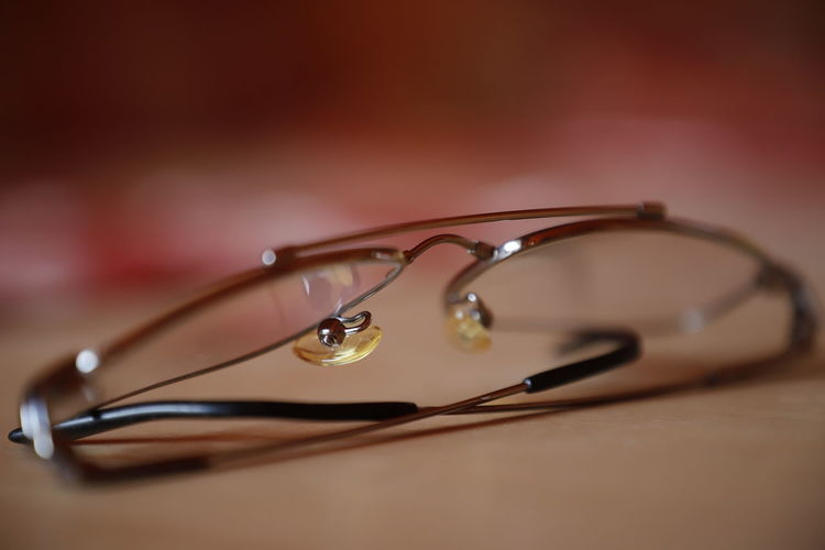 Glasses Reading Close-up Day Detail Details Eyeglasses  Indoors  Metal No People On The Table Poor Eyesight Selective Focus Silver
