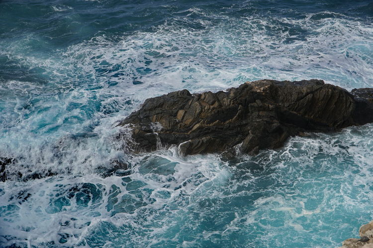 waves 3 Fuerteventura Beauty In Nature Day Motion Nature No People Outdoors Power In Nature Rock - Object Scenics Sea Water Wave