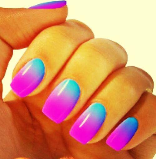 nails#degrade#art#swag