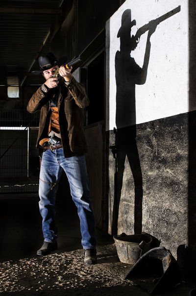 Cowboy Cowboy Be Brave Full Length Standing Activity Casual Clothing