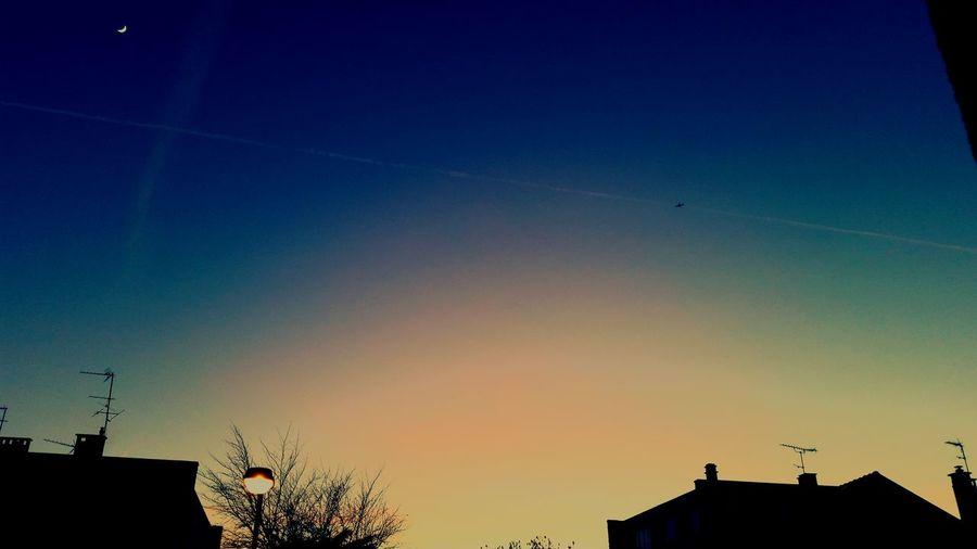Sky Sky Collection Skyviewers Blue Sky Moon