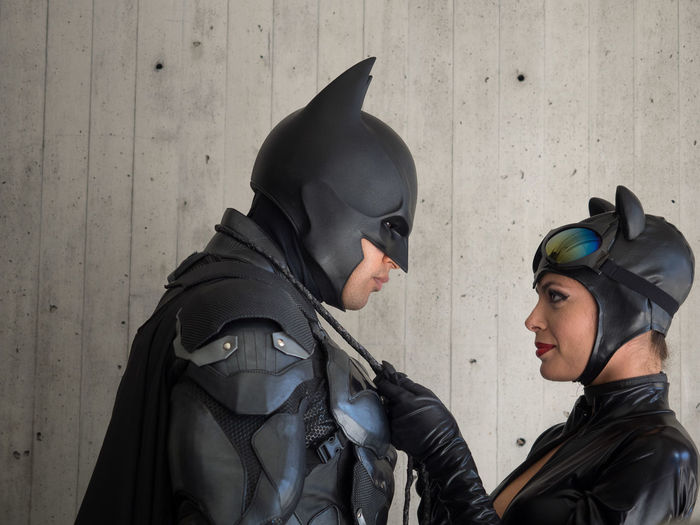 Batman Catwoman Cosplay Cosplayer Cosplayers New York Comicon NYCC NYCC2015