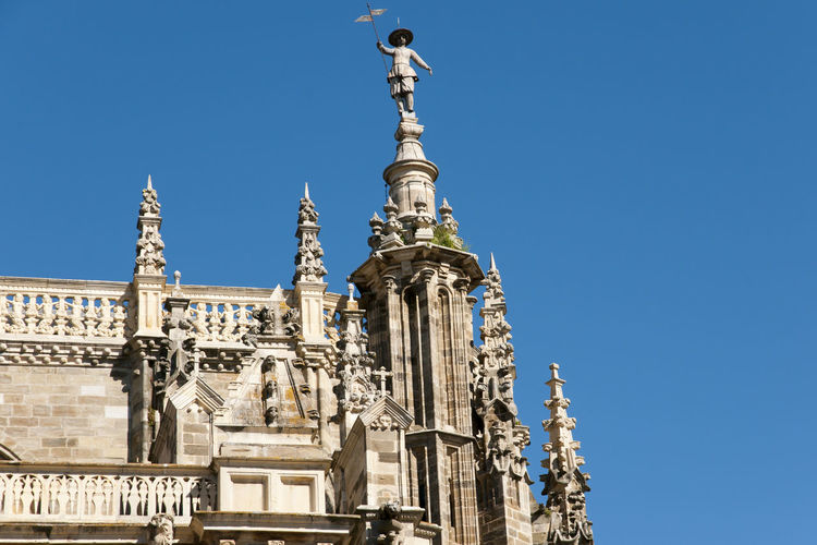Cathedral of Astorga - Spain Cathedral SPAIN Architecture Astorga Baroque Style Built Structure City Place Of Worship Statue