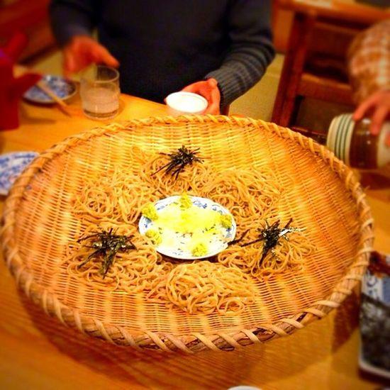 節分蕎麦\(^o^)/