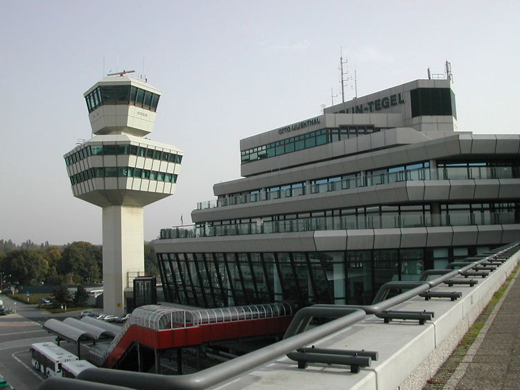 2001 Airport Architecture Berlin Building Exterior Building Terrace Built Structure City Day Flughafen Tegel TXL No People Outdoors Sky Tree Txl