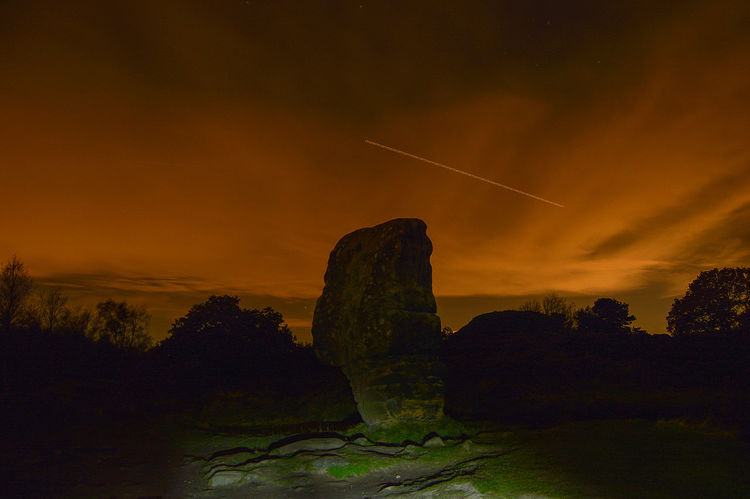 Beauty In Nature Landsape Light Pollution Nature Night Outdoors Scenics Sky Stanton Moor Tranquility