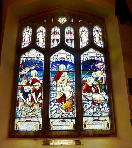 Sandringham Church Stain Glass Window Church
