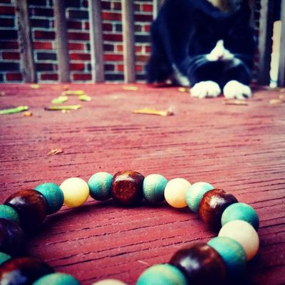 So. I made some news awesome bracelets but my cat eat them all. Fo real. Forreal Foreal Cats Cat jewelry jewelrygram bracelets animalsarebetterthanpeople cutie beads beadsbracelet peaceout mycat niceone photooftheday instagood instalike nice wall production jewelries