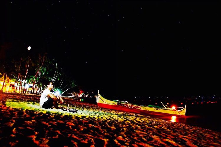 """"""" stargazing """" it's me Stargazing Eyeem Philippines More Fun In The Philippines  Creative Light And Shadow Taking Photos Photography Beach Boracay"""