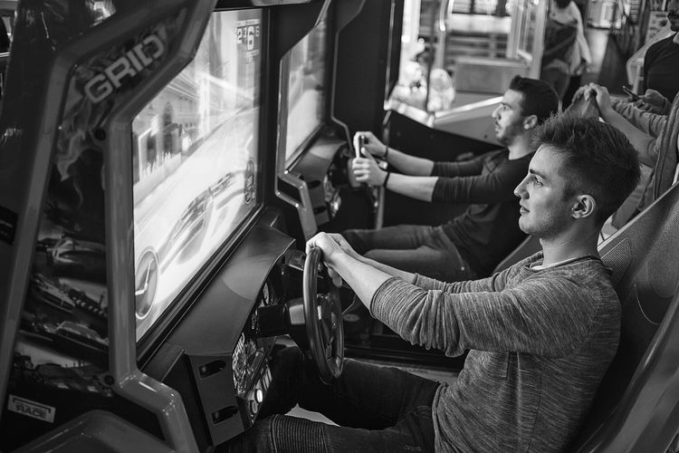 Videogames Games Game Gamer Gamers Game Day Game Time  Driver EyeEm Best Shots Blackandwhite Black And White Monochrome