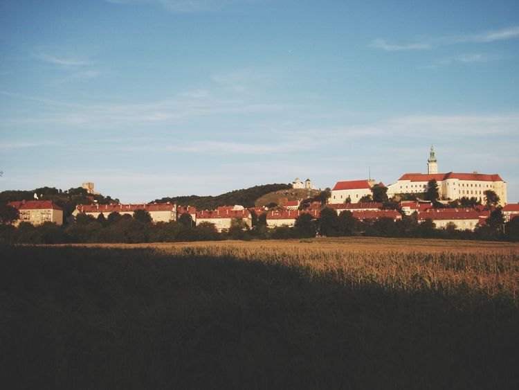 Mikulov, Czech Republic Building Exterior Built Structure Architecture House Sky Outdoors Field No People Nature Residential Building Rural Scene Day Grass Mikulov Czech Republic Photography Bestoftheday