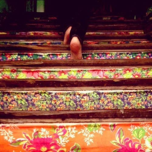 @paty_guerra Steps.... At Instatour today: RIOQUECURTE OBoticario_Rio Igersrio Rioeuteamo IgersRio_OBoticario 😜😜😜