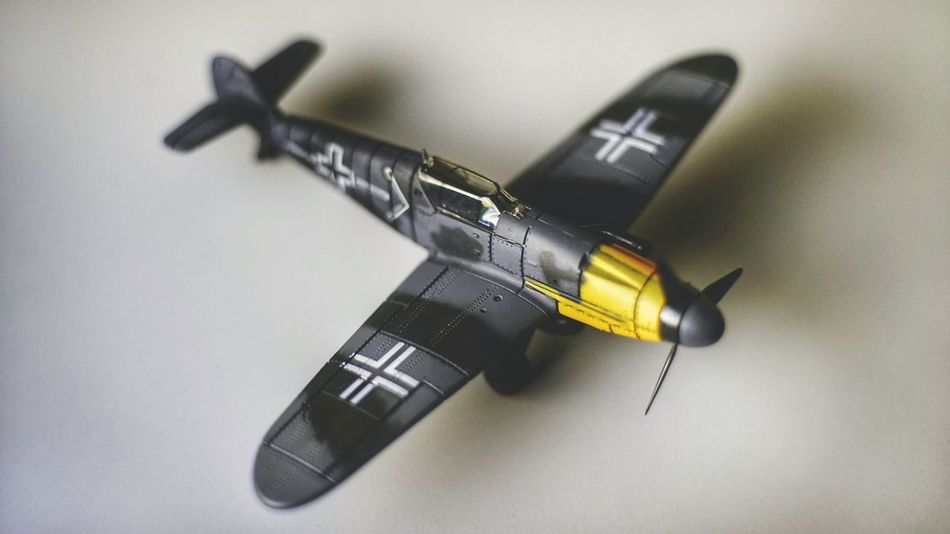 Second Acts Indoors  No People Close-up Hobby Fun Collectables Collector Plane Toy German Messerschmitt Bf 109