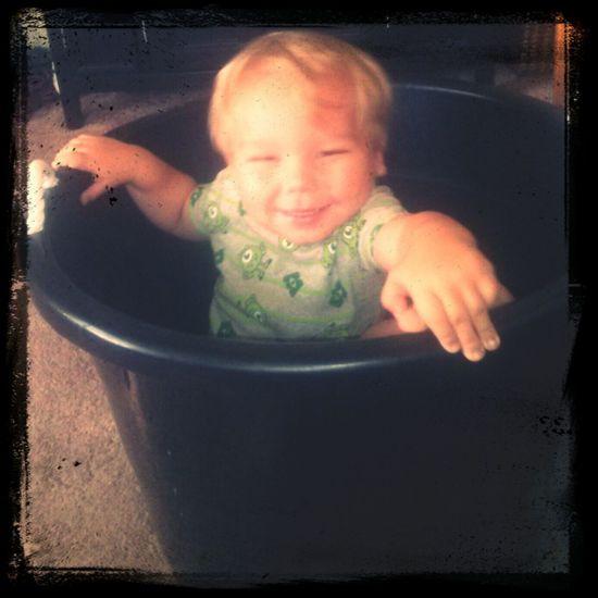 My silly boy