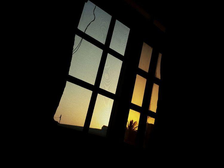 Window of sunset