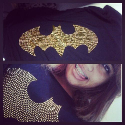 Nova camiseta dó batman que o papai me deeu ameei . Batmans2 Ameei