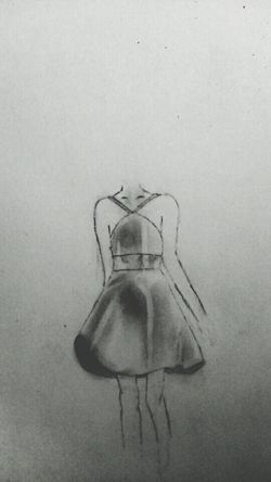 Drawing My Drawing Drawingtime Hand Drawing Dress Littleblackdress Artistic Art Art, Drawing, Creativity DrawSomething