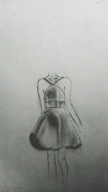 Drawing My Drawing Drawingtime Hand Drawing Dress Littleblackdress Artistic Art Art, Drawing, Creativity DrawSomething