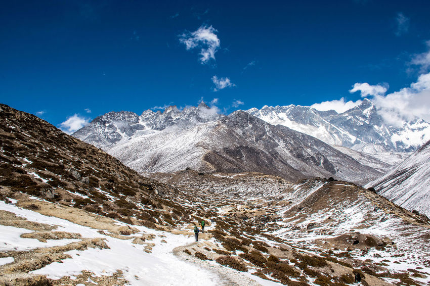 Nepal Connected By Travel Beauty In Nature Mountain Mountain Range Non-urban Scene Snow Snowcapped Mountain Tranquil Scene Tranquility Winter Be. Ready.