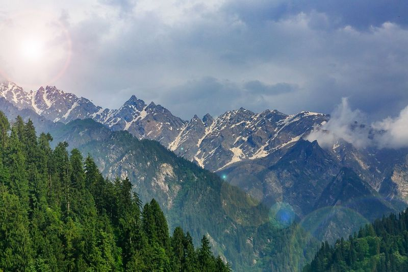 Nature. Kasol, Himachal Pradesh, India. Mountain Pinaceae Tree Mountain Range Forest Pine Tree Snow Nature No People Mountain Peak Scenics Outdoors Vacations Beauty In Nature Day Sky Landscape
