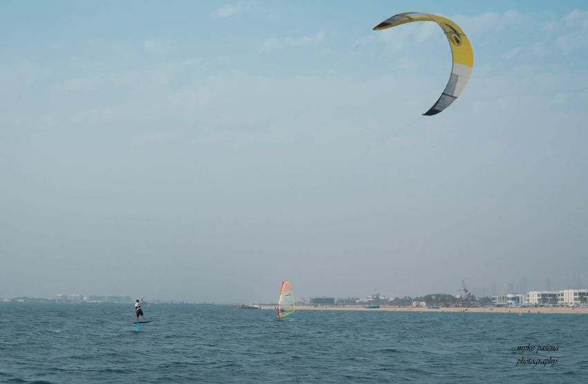 Kite Water Sky Sea Sport Real People Extreme Sports Lifestyles Waterfront Nature Kiteboarding Adventure