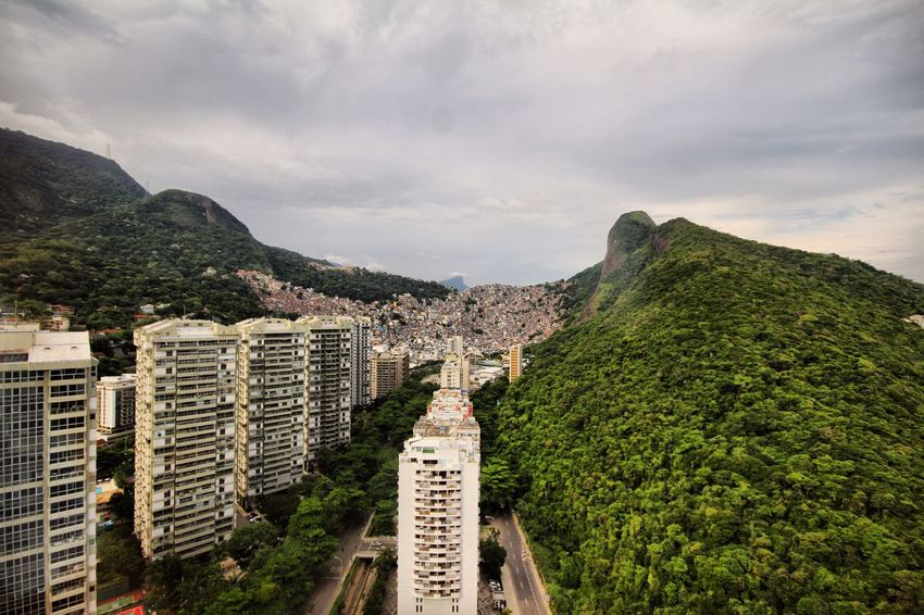 Brasil Favelas Cloud - Sky Architecture Mountain Sky Built Structure Building Exterior Day Outdoors Travel Destinations Nature No People Landscape Scenics Tree Beauty In Nature Cityscape City Mobility In Mega Cities