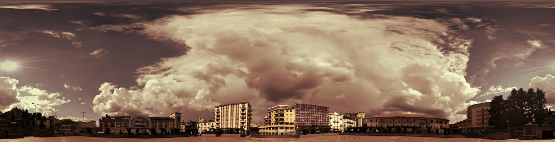 Photosphere Square Clouds And Sky
