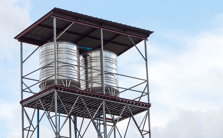 Architecture Building Exterior Built Structure Day Low Angle View No People Outdoors Sky Watertank