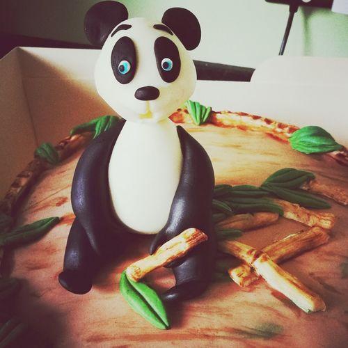 Panda Bear Panda Sugarcraft Handmade Home Baking Sugar Craft Sugar Homebaker