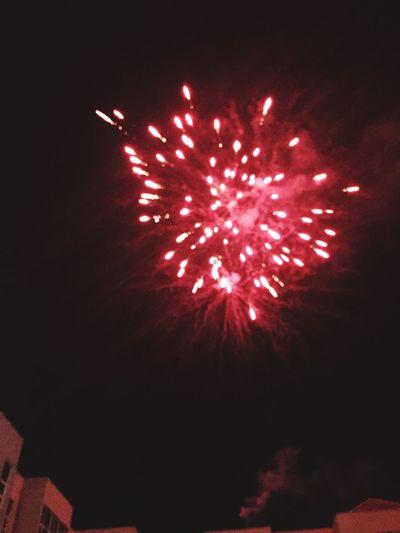 Fireworks Graduation