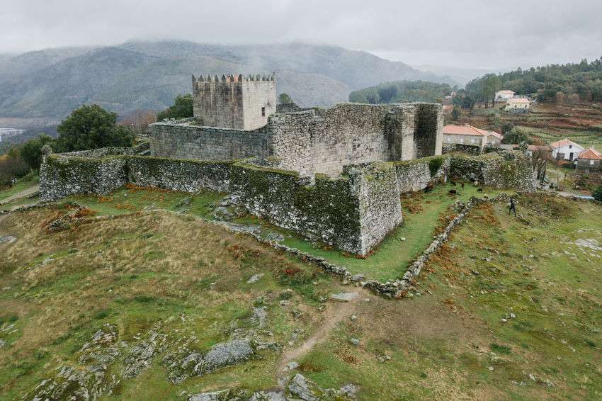 Arcos de Valdevez / Lindoso / Peneda Geres / Ponte da Barca / A Senhora Do Monte Arcos De Valdevez DJI Mavic Pro DJI X Eyeem Drone  Lindoso Peneda-Gerês National Park Aerial Aerial View Architecture Building Exterior Built Structure Castel Day Dji Dronephotography History Mountain Nature No People Old Ruin Outdoors Ponte Da Barca Sky Water
