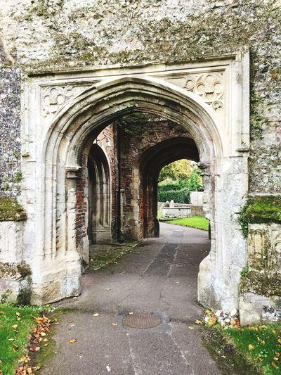England Old Church Vintage