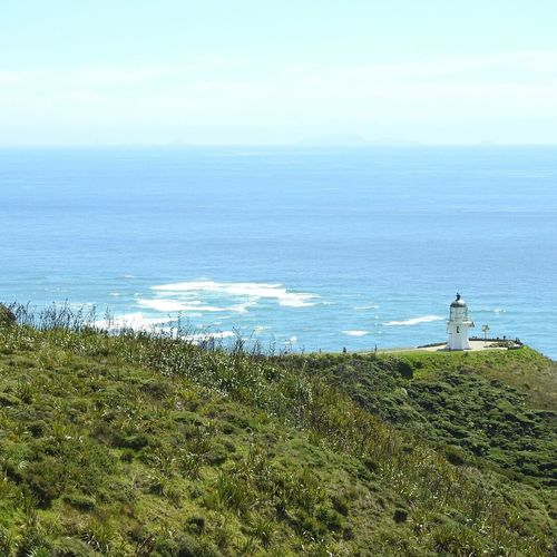 Cape Reinga Lighthouse north island New Zealand Sea Water Beach Beauty In Nature Scenics Outdoors Northisland Northislandnz Newzealand New Zealand Capereinga Bayofislands Bayofisland Lighthouse Lighthouses Lighthouse_lovers Seascape Photography Nature Beauty In Nature Landscape Nature Sky