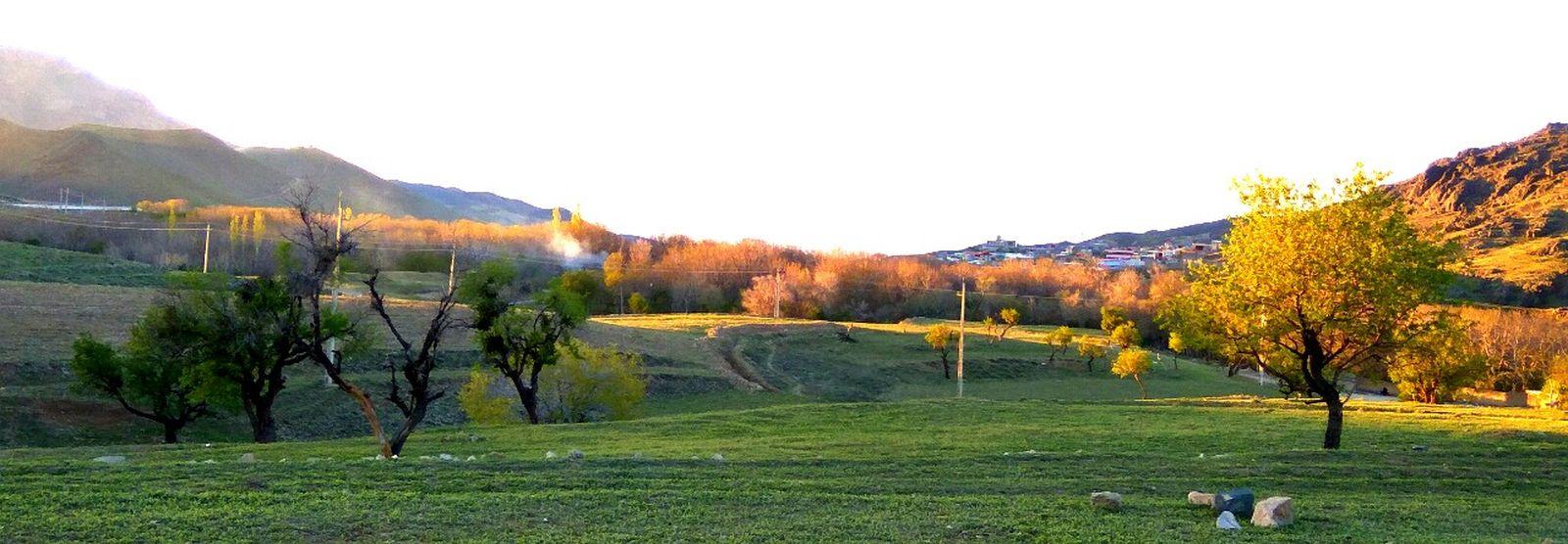 Iran Qom Iran Shot MMB Relaxing With My Love 7pm Golden Hour Panoramic Good Feeling این ازون عکساست که وقتی چشمت بهش میفته لبخند به لبت میشینه!