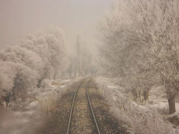 Tınaztepe tren istasyonu Afyon ciheti. My Best Photo 2014 Nature_collection Nature hanifi kalin