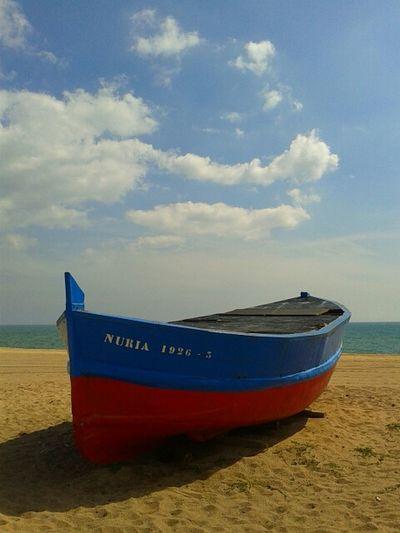 Streetphotography Beach Boat #ocata #masnou #maresme