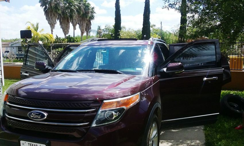 Just got ours & we Love It EyeEmNewHere Ford Motor SUV Explorer AWD  Sony Sound System Navigation Rearview Camera