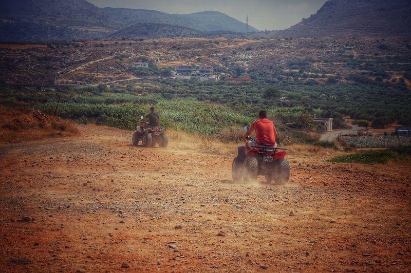 Greece, Crete Quads Mountains Homies ✌