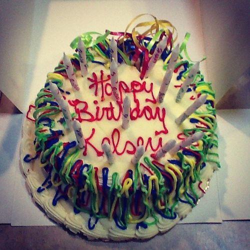 My precious!!!! Soon.... -.- you will be in my tummy!!!! Muhahaha! :) Birthday Cake 17candles